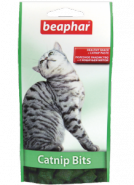 Beaphar Catnip-Bits Подушечки с кошачьей мятой для кошек и котят (35 г)