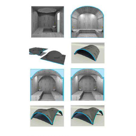 Купола для хамама