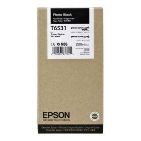 Картридж оригинальный EPSON T6531 черный фото для Stylus Pro 4900 C13T653100
