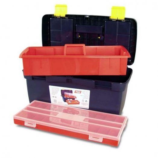 Ящик для инструмента № 19 с лотком + органайзер