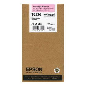 Картридж оригинальный EPSON T6536 светло-пурпурный для Stylus Pro 4900 C13T653600