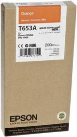 Картридж оригинальный EPSON T653A оранжевый для Stylus Pro 4900 C13T653A00