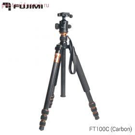 FT100C Штатив-монопод с головой для фото и видеокамер. Серия суперкомпакт