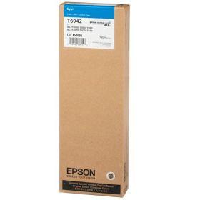 Картридж оригинальный EPSON C13T694200 T6942 голубой экстраповышенной емкости для SC-T3000/SC-T5000/SC-T7000  C13T694200