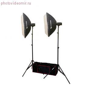 FJ SK2250SB Готовый набор для фотостудии 500 Дж