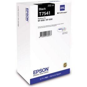 Картридж оригинальный EPSON T7541 черный экстраповышенной емкости для WF-8090/8590 C13T754140