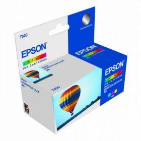 Картридж оригинальный EPSON голубой для Stylus Color 3000/Pro 5000 C13S020130