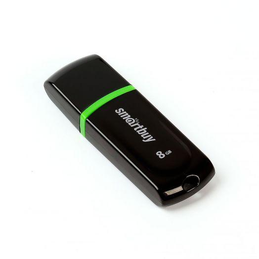 USB накопитель Smartbuy 8GB Paean series Black