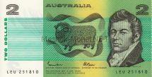 Банкнота Австралия 2 доллара 1985 г