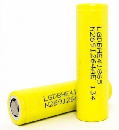 Аккумулятор LG HE4 18650 (25А, 2500mA)