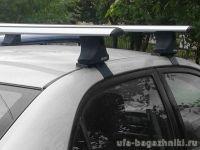 Багажник на крышу Ford Mondeo MK4 2007-14, Атлант, крыловидные аэродуги