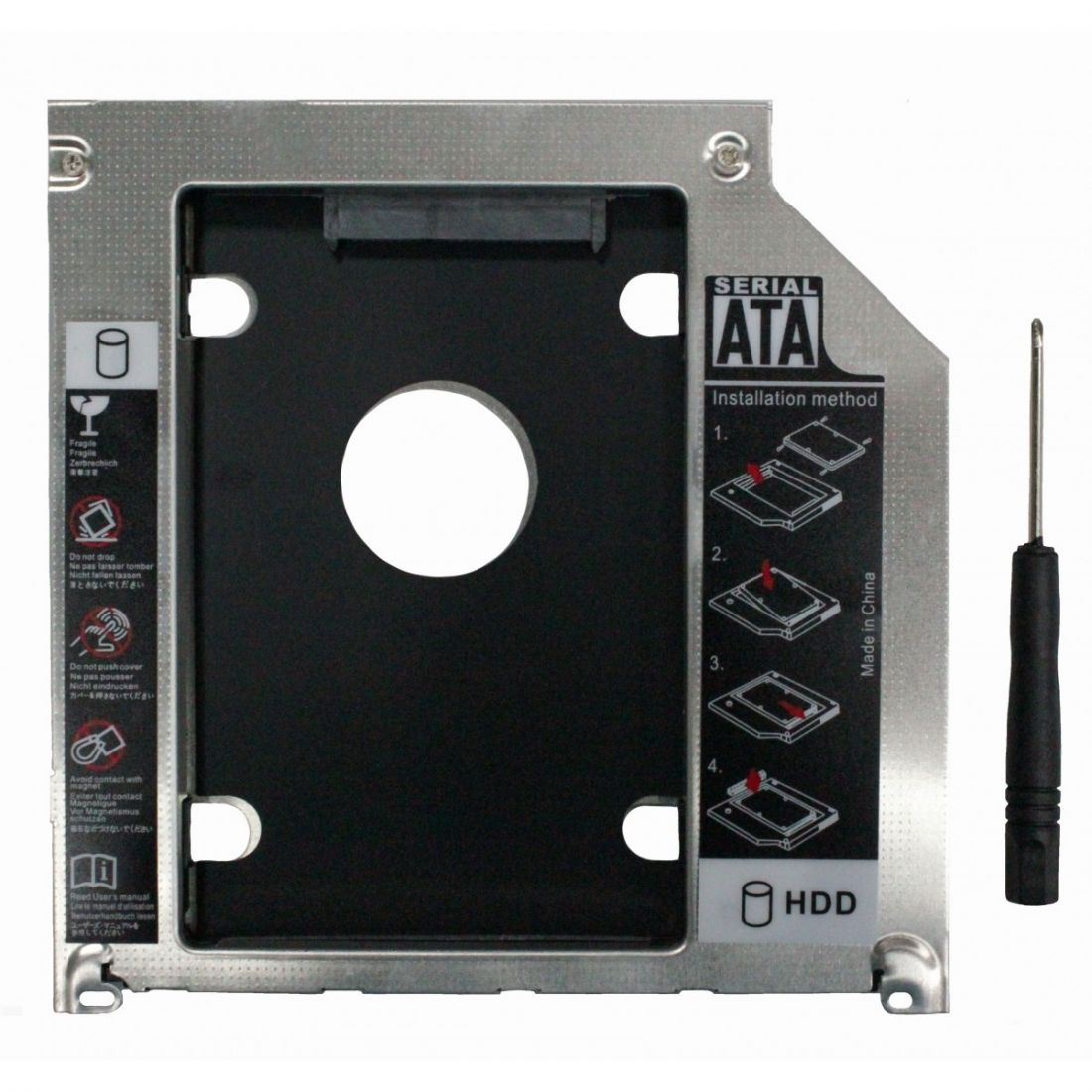 Оптибей 9.5mm SATA-mSATA для Apple Macbook