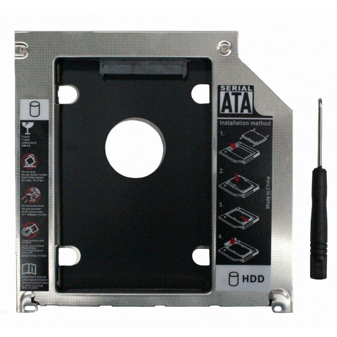 Оптибей 9.5mm SATA-mSATA для Apple Macbook