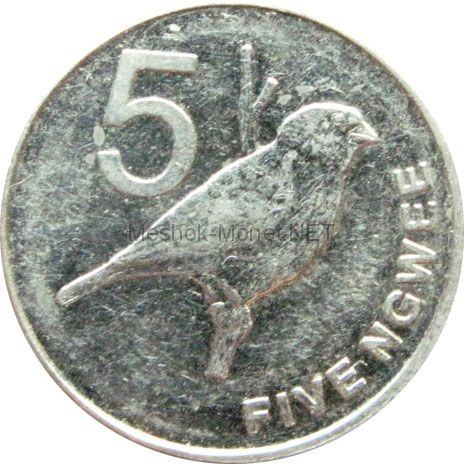 Замбия 5 нгвей 2012 г.