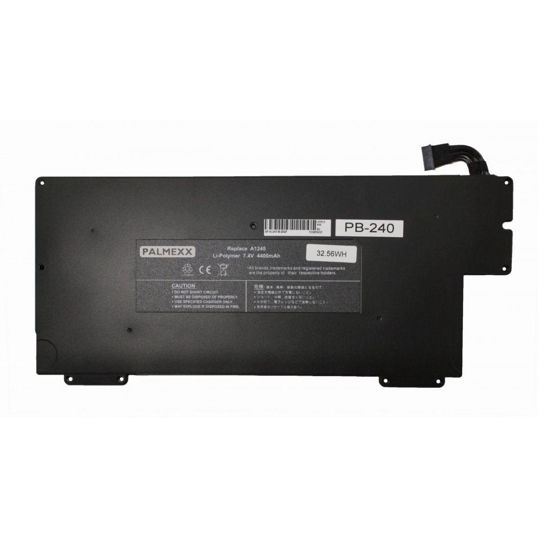 "Аккумулятор PALMEXX A1245 для ноутбука Apple Macbook Air 13.3"" A1237/A1245/A1304 (7.4v-33Wh)"