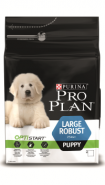 Pro Plan LARGE PUPPY ROBUST Корм для щенков крупных пород мощного телосложения с курицей и рисом (12 кг)