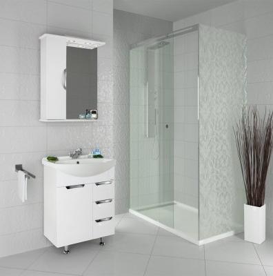 Мебель для ванной Vod-ok Лира 65 (белый, венге)