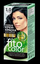 """Стойкая крем-краска для волос серии """"Fitocolor"""" тон черный 115 мл"""