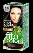"""Стойкая крем-краска для волос серии """"Fitocolor"""" тон темный каштан 115 мл"""