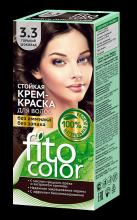 """Стойкая крем-краска для волос серии """"Fitocolor"""" тон горький шоколад 115 мл"""