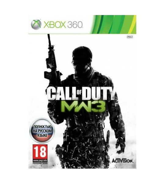 Игра Call of Duty  Modern Warfare 3 (xbox360)