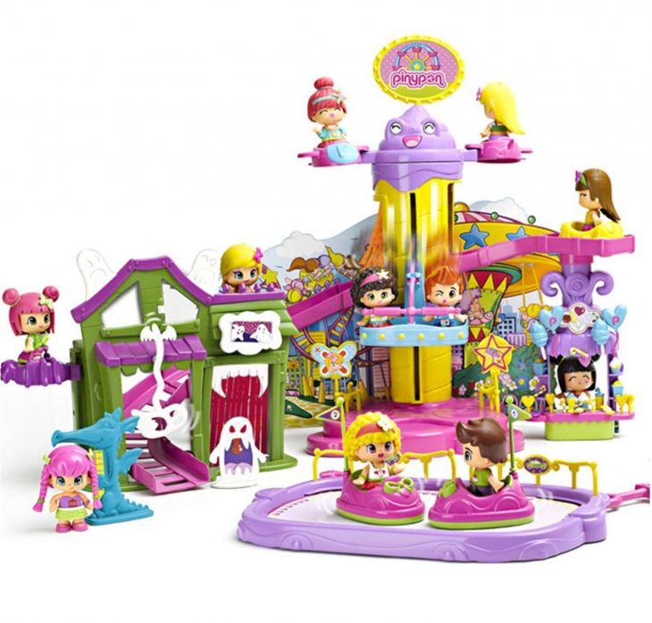 Набор игровой Парк развлечений Пинипон