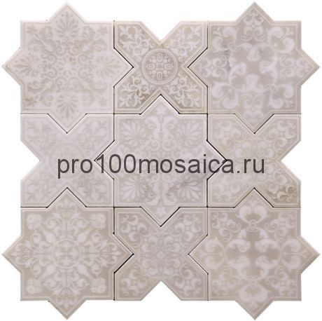 PNT-3 Мозаика серия PANTHEON (ANTICO), размер, мм: 203*92*10 (Skalini)