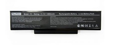 Аккумулятор PALMEXX A32-F3 для ноутбука Asus F2/F3/F7/M51/Z53/K73/X53/X56 (11,1V-4400mAh)