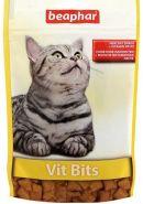 Beaphar Vit Bits Подушечки с мультивитаминной пастой для кошек (150 г)