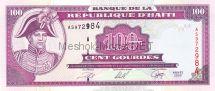 Банкнота Гаити 100 гурд 2000 год