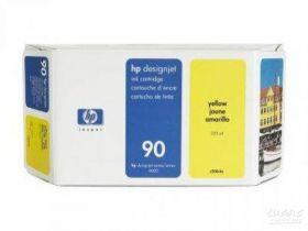 Картридж оригинальный Hewlett-Packard 90 Ink Yellow (225 ml) C5064A