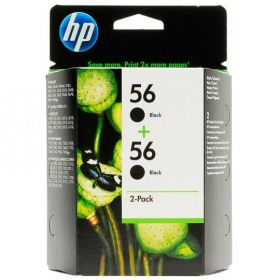 Картридж оригинальный Hewlett-Packard HP № 56 2-pack Black C9502AE