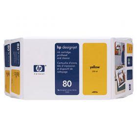 Картридж оригинальный Hewlett-Packard (желтый) C4848A