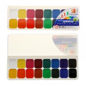 Яркие краски Акварель