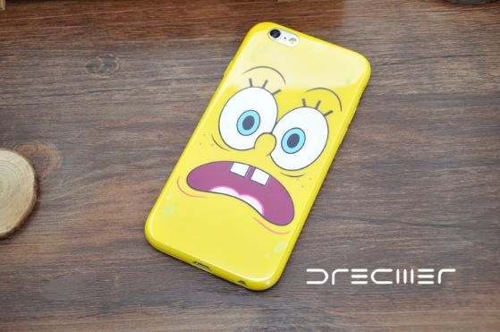 Силиконовый чехол iPhone 6/6s Sponge Bob #1