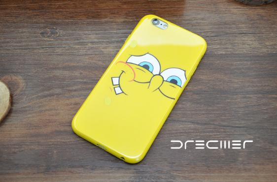 Силиконовый чехол iPhone 5/5s Sponge Bob #3
