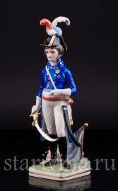 Французский революционный генерал, 1789, Friedrich Wessel, Германия, 1949-64 гг., артикул 02523