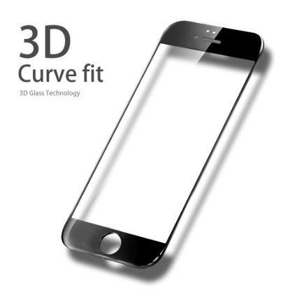 Защитное стекло  Tempered Glass 3D Full Screen  0.33mm для iPhone 6/6s (Цвет: Черный)