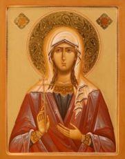 Икона Павла Кесарийская (рукописная)