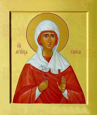Икона Раиса Александрийская (рукописная)