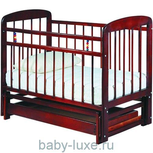 Кроватка детская Мишутка - 11 маятник/ящик