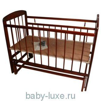 Кроватка детская Мишутка - 11 маятник/без ящика