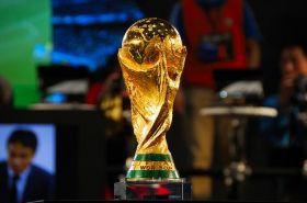 Приз футбол кубок Мира 21 см