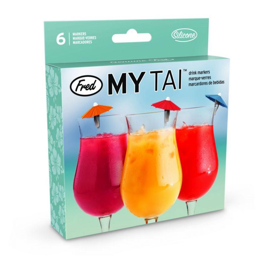 Зонтики для коктейля My Tai 6шт