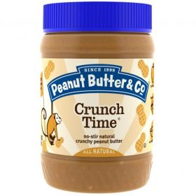 Peanut Butter & Co. Crunch Time Crunchy Peanut Butter (454 гр.)
