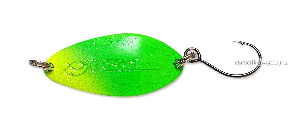 Купить Блесна Kosadaka Buggy (одинарный крючок) 32 мм / 4,5 гр цвет LR