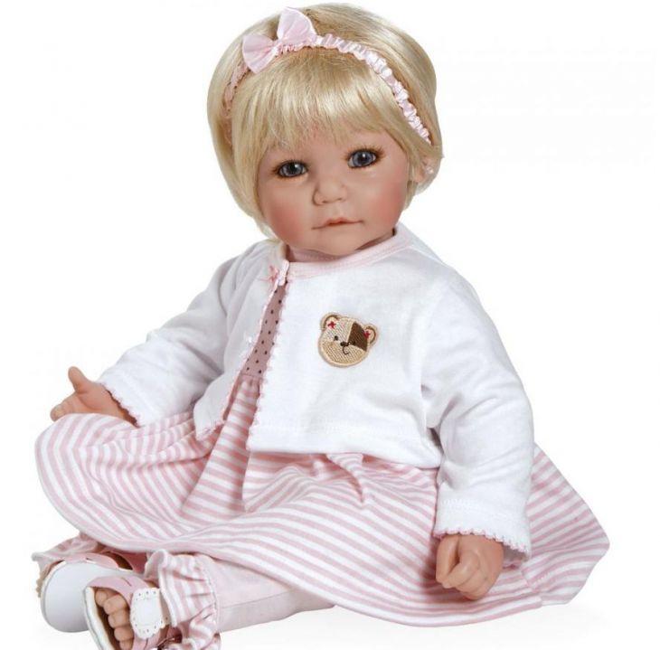 Кукла Adora Розовый костюм с мишкой