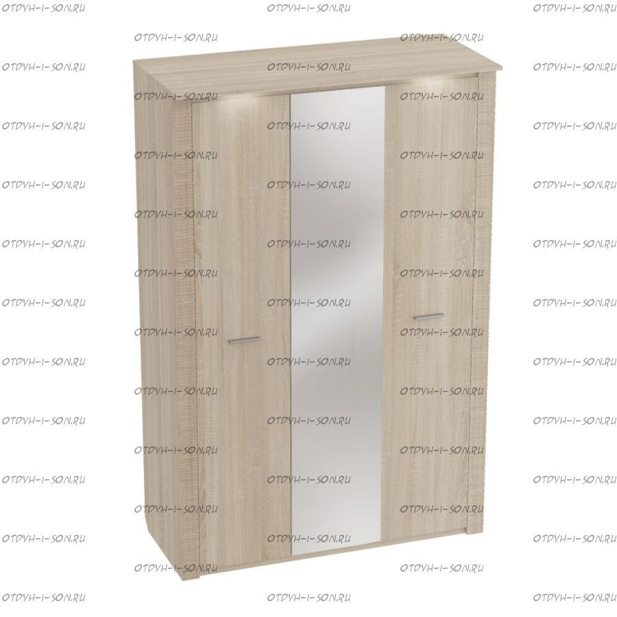 Шкаф 3-дверный Элана (Спальня) 143х65х219