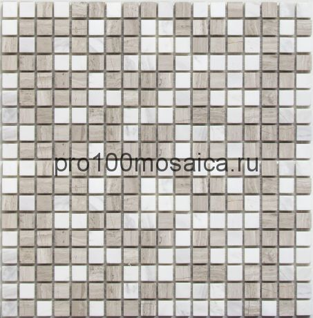 Melange-15 камень. Мозаика 15*15 серия STONE,  размер, мм: 305*305*7 (Bonaparte)