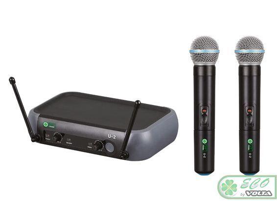 ECO by VOLTA U-2 Радиосистема 2 микрофона